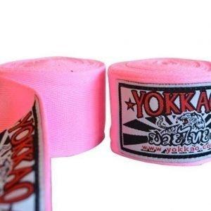YOKKAO Hand Wraps Pink 2.5M Kids