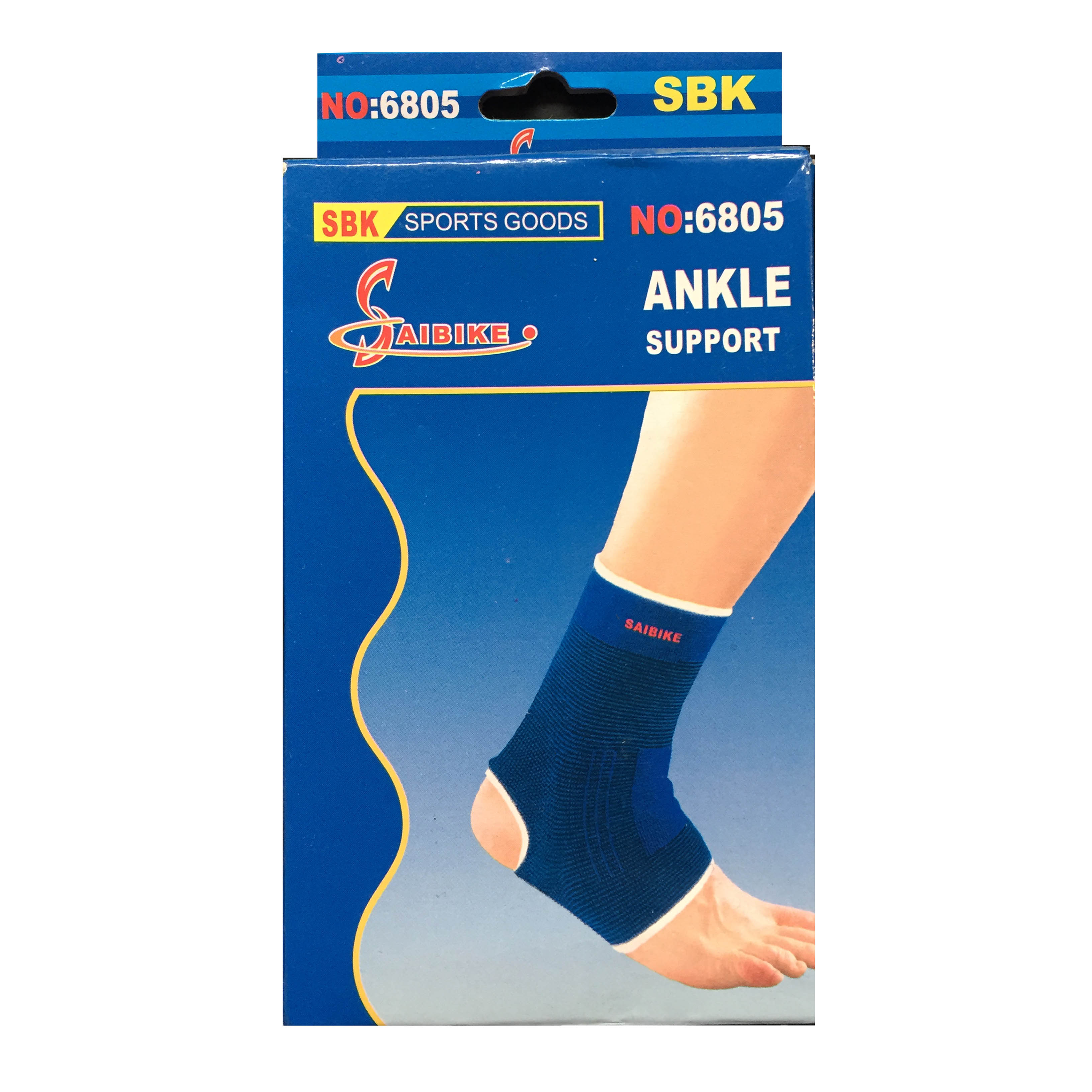 Sandee Ankle Support Premium Red Muay Thai Protection Anklets Kickboxing MMA Sold by MinotaurFightStore