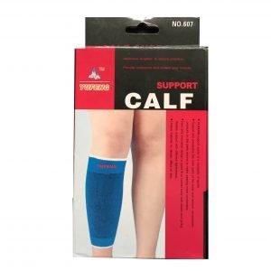 Sports Goods Calf Support Blue