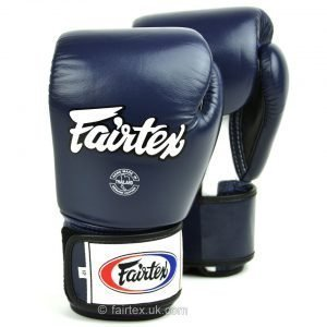 Fairtex Boxing Gloves 3-Tone Blue BGV1