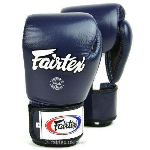 Fairtex Boxing Gloves 3-Tone Blue BGV1