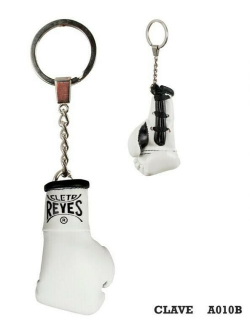 Cleto Reyes Official Fight Glove Key Ring White
