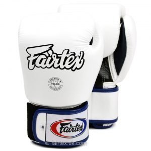 Fairtex Boxing Gloves 3-Tone White BGV1