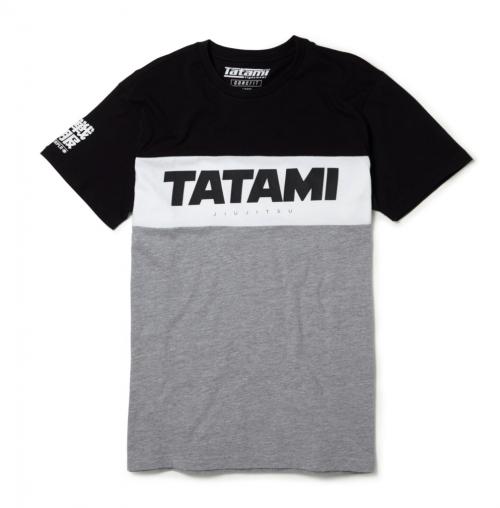 Tatami Essentials Tri Panel T-Shirt Grey