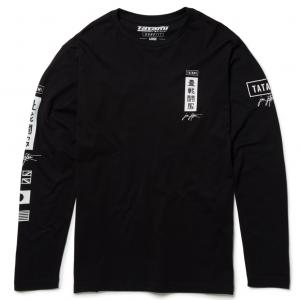 Tatami Signature Long Sleeve T-Shirt Black