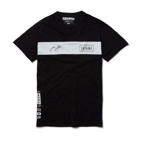 Tatami Signature Short Sleeve T-Shirt Black
