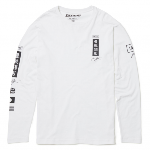Tatami Signature Long Sleeve T-Shirt White