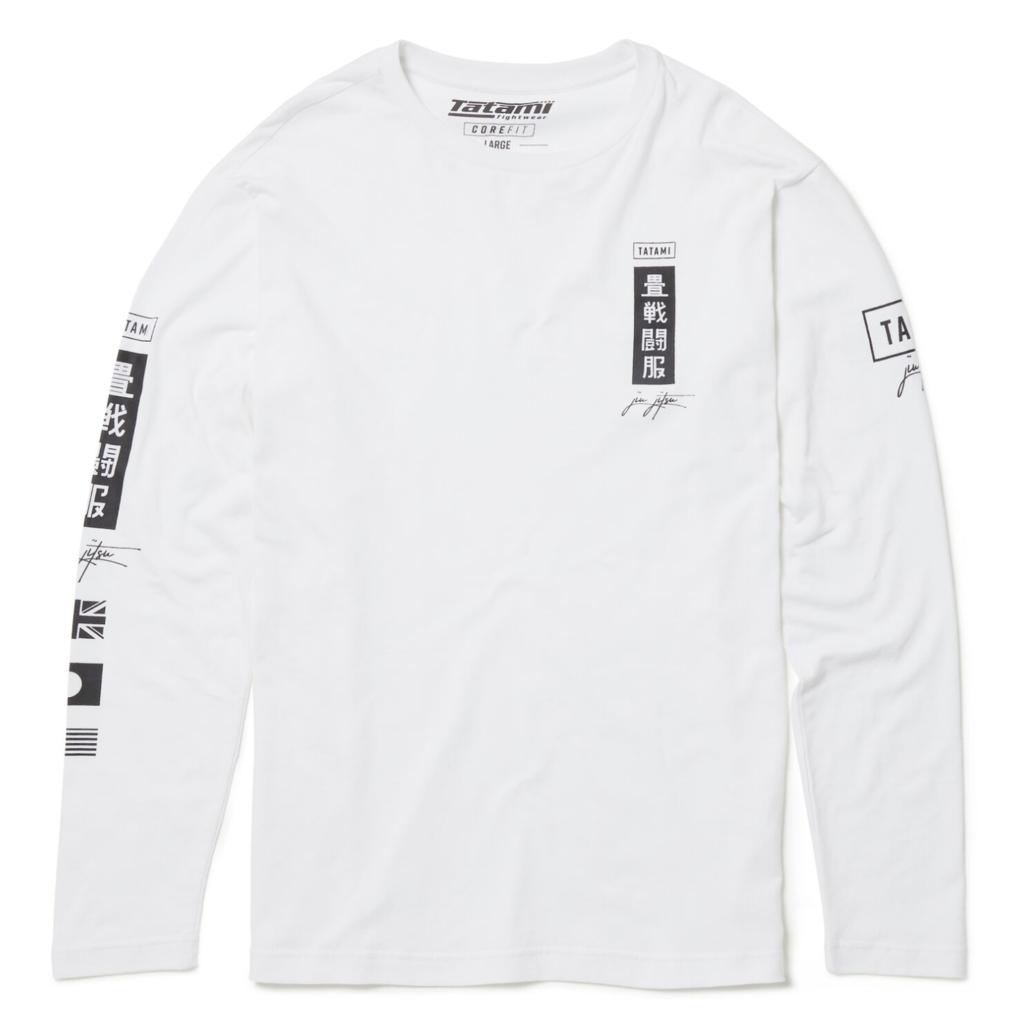 137a7cf76 Shop. Home » Products » Tatami Signature Long Sleeve T-Shirt White