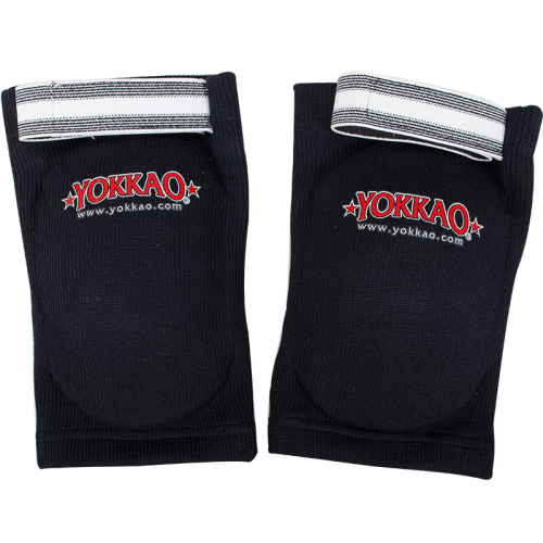 YOKKAO Elbow Guard Black Cotton