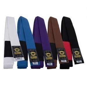 Kingz Deluxe Competition BJJ Belt Purple