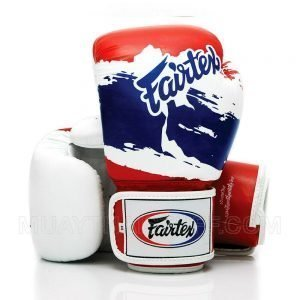 BGV1 Fairtex Boxing Gloves 3-Tone Thai Flag