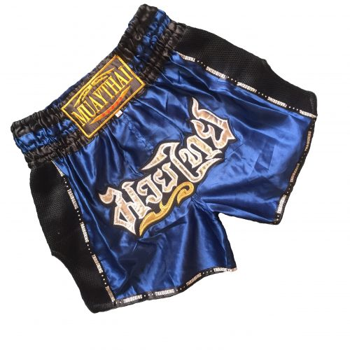 Muay Thai Classic Shorts Navy Blue V2
