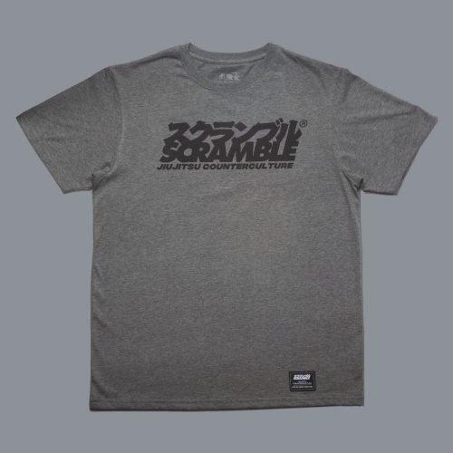Scramble Jiu-Jitsu Counterculture T-Shirt Heather Grey