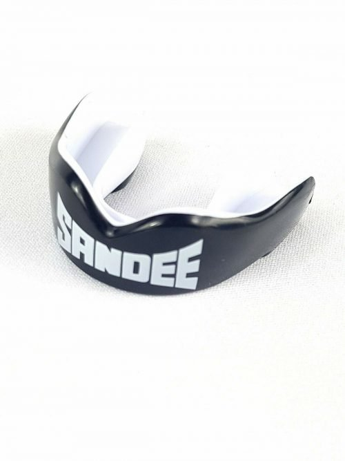 Sandee Mouth Guard Youth Black White