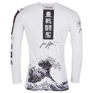 d744e1eb636 Tatami Kanagawa Long Sleeve Rash Guard White