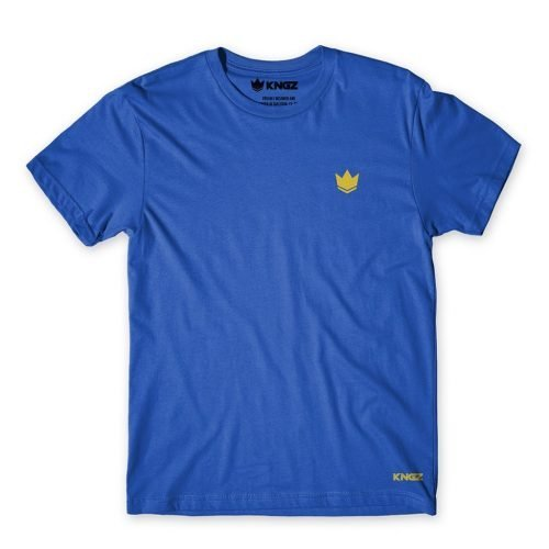 Kingz Deluxe Crown Tee T-Shirt Blue
