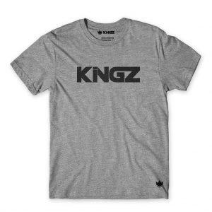 Kingz Logo Tee T-Shirt Grey