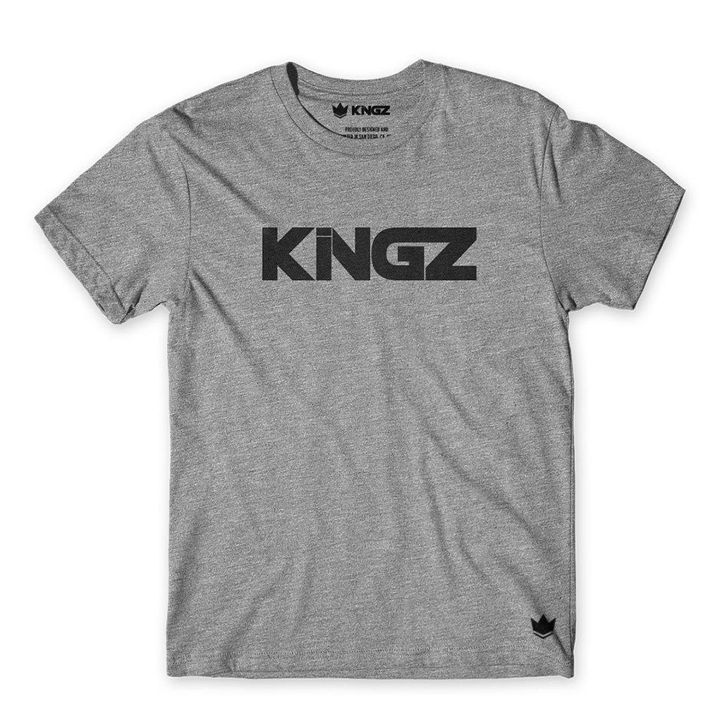 d533cd5ffa3 Kingz Logo Tee T-Shirt Grey