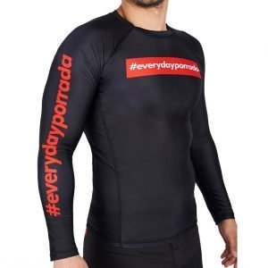 Manto Every Day Porrada V2 Rash Guard Long Sleeve