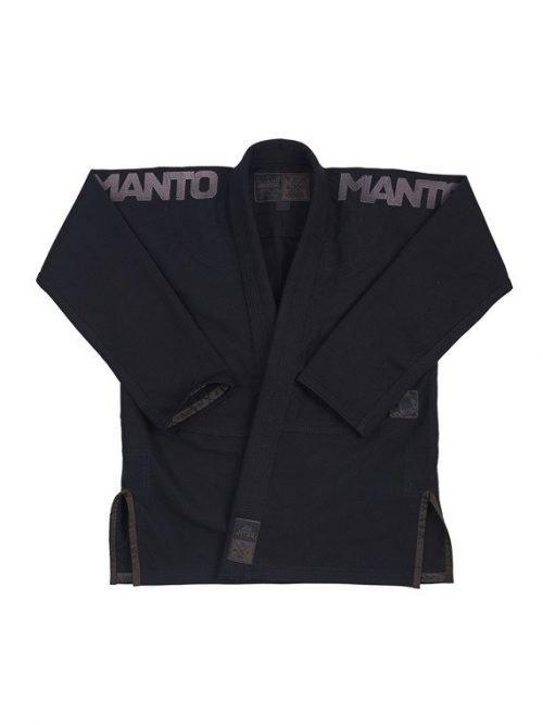 Manto BJJ Gi X3 Black V1