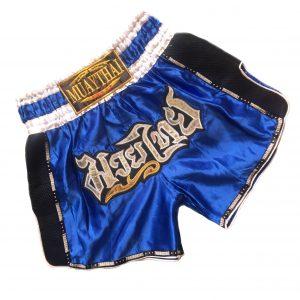 Muay Thai Classic Shorts Blue V2
