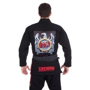 Tatami x Slayer Battle BJJ Gi Black