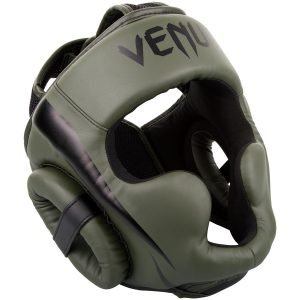 Venum Elite Head Guard Headgear Khaki