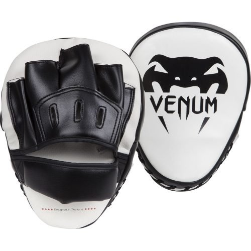 Venum Light Focus Mitts Black Ice