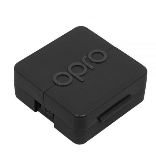 OPRO Antimicrobial Mouth Guard Case Black