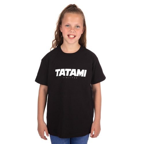 Tatami Kids Essential 2019 T-Shirt Black