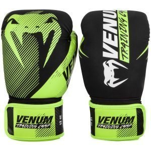Venum Boxing Gloves Training Camp 2.0 Black Neo Yellow