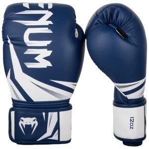 Venum Boxing Gloves Challenger 3.0 Navy Blue White