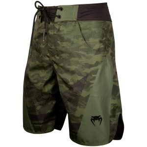 Venum Trooper Board Shorts Forest Camo Black