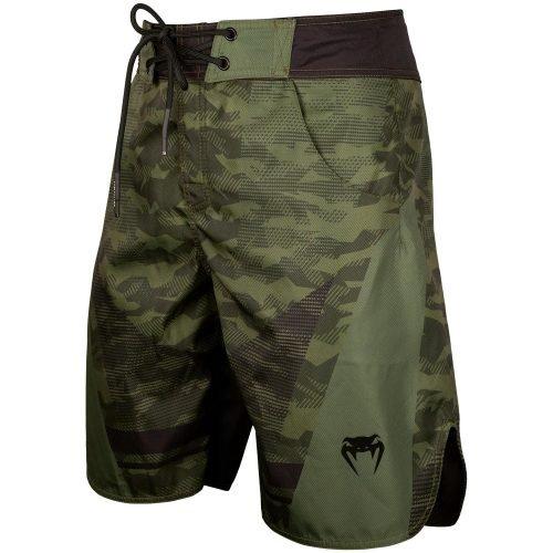 Venum Trooper Board Shorts Forest Camo Black