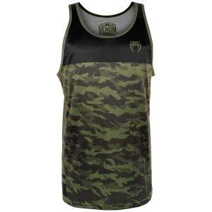 Venum Trooper Tank Top Forest Camo Black