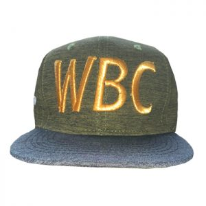 WBC Official Logo Snapback Green Grey