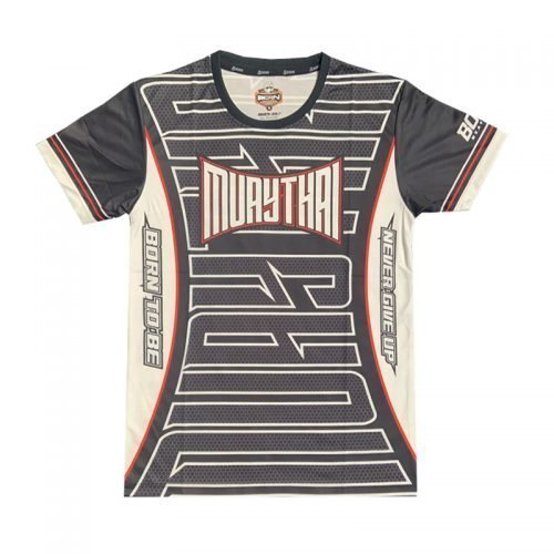 Born To Be Muay Thai Big Logo Midnight Edition T-Shirt