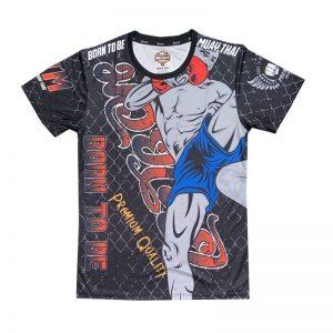 Born To Be Muay Thai High Kick T-Shirt