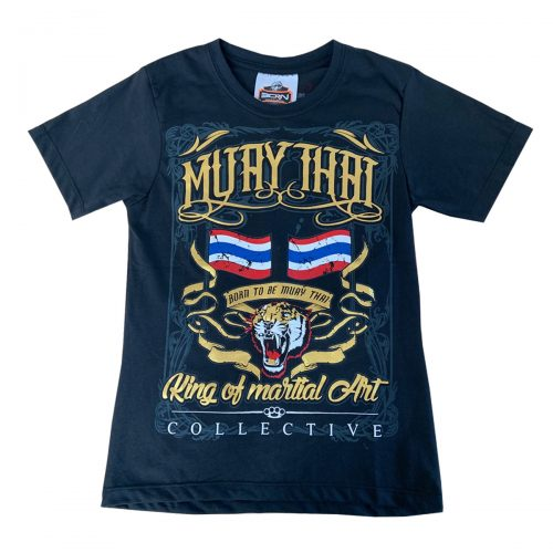Born To Be Kids Muay Thai Tiger T-Shirt