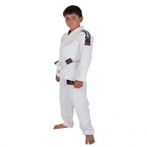 Kingz Kids Basic BJJ Gi White
