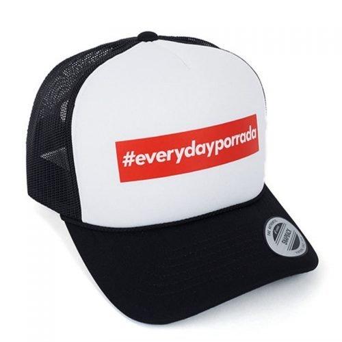 Manto Hat Everyday Porrada Mesh Foam Curved Snapback