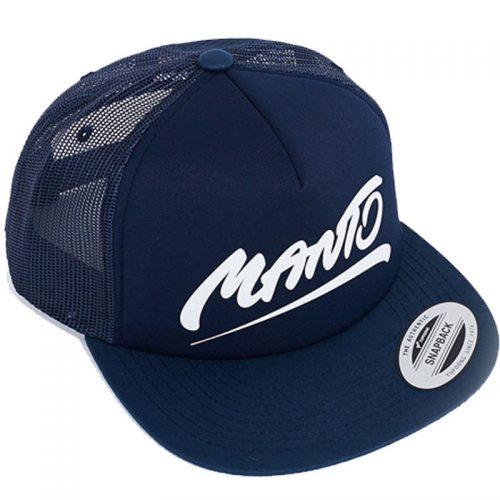 Manto Hat Tag Mesh Foam Navy Blue Snapback