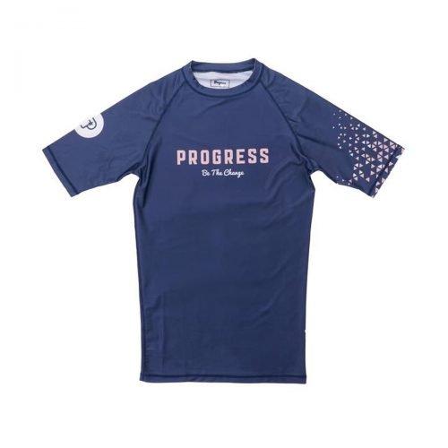 Progress Cosmo Rash Guard Blue