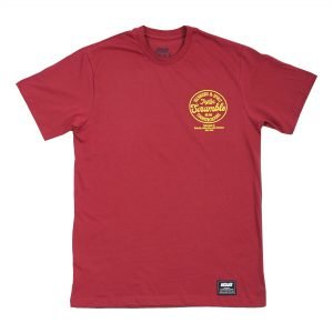 Scramble Technique & Spirit T-Shirt Red