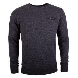 Tatami Marl Basic Sweat Shirt Charcoal Grey