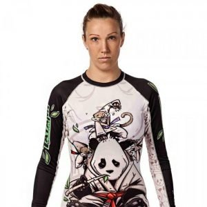 Tatami Ladies Gentle Panda Rash Guard