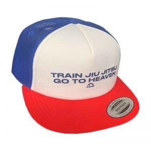 Manto Hat Jiu Jitsu Mesh Foam Blue White Red Snapback