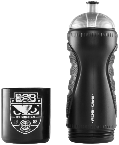 Bad Boy Water Bottle With Storage Compartment Black