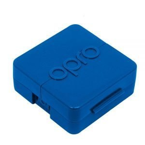 OPRO Antimicrobial Mouth Guard Case Blue