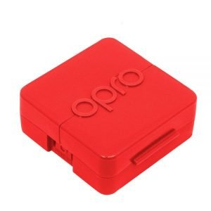 OPRO Antimicrobial Mouth Guard Case Red